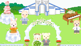 Barbie wedding design