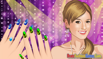 Prom Nail Design