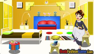 Stellas bedroom