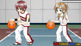 Beautiful shot Basketball